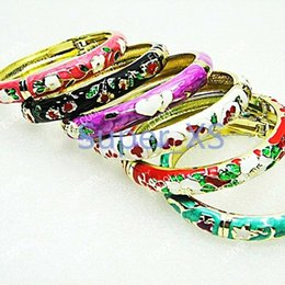 Fashion Top China Unique Fashion Cloisonne Bracelets For Women Girls Jewelry Whole Bulk Lots LR097 Free Shipping
