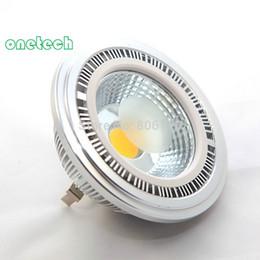 New Arrival 15W COB G53 AR111 led spotlight 15W QR111 LED recessed light led bulb lamp,DC12V AC85-25V 20pcs lot Free shipping