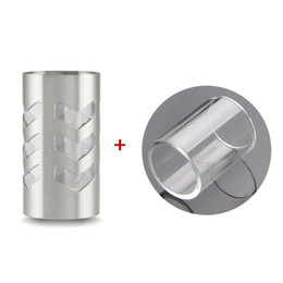 Wholesale Electronic Cigarette Arrow Shield Glass Tanks for SR V3 by ShenRay Silver Glass Tanks For Electronic Cigarette