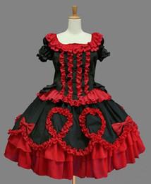 (LLT041) Lolita Dresses Short Sleeveless Sweet Lolita Short Dress Ball Gown Fancy Prom Dress Halloween Party Masquerade Costume
