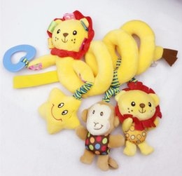 NEW lovely infant lion toy baby crib revolves around the bed stroller hanging Development educational toy