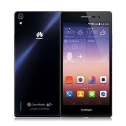 Wholesale Original Huawei P7 Mobile Phone Android Smartphone IPS Quad Core GB RAM Ascend buy G FDD LT