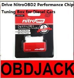2016 Plug and Drive NitroOBD2 Performance Chip Tuning Box for Diesel Cars with 2 Year Warranty Free Shipping