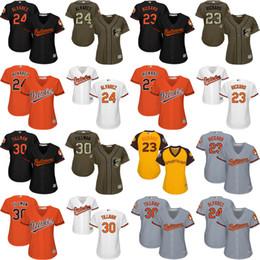 Wholesale women Joey Rickard Pedro Alvarez Chris Tillman Baltimore Orioles Baseball Jersey stitched size S XL