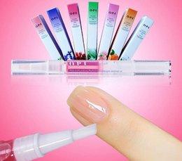 Wholesale 15 Flavors Cuticle Nourishment Oil Pen Fruit Flower Mix Taste Nutrition Nail Art Care Treatment Nail Nutrition Oil Pen New