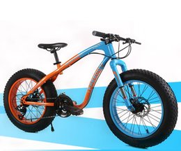 Wholesale 26 inch Cross country snow beach bike super wide tires Variable speed mountain bike Male and Female students cycling