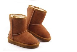 Wholesale New Real Australian High quality Kids Boys girls children baby warm snow boots Teenage Students Snow Winter boots size