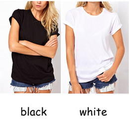 2015 Summer Hot T-shirts Angel Wings Short Sleeve 0-Neck Women Casual Shirts Backless Casual Tops Black White Plus Size S-XXXL