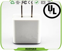 Wholesale Dual usb charger A W UL FCC CE Rohs certificate work for iPhone s s s iPad air and all smart cell phone