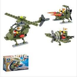 Free Shipping--Free Shipping---In 2016 year new product's little fox selling educational building blocks assembled toy helicopter