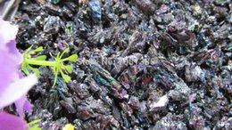 Wholesale Natural colorful aquarium gravel of original rock ore square garden rockery Home interior decoration materials prices