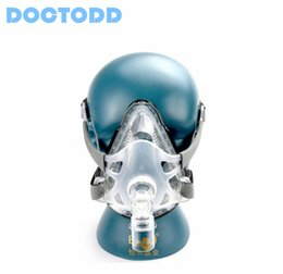 Wholesale F1A Full Face Mask Hot Sale Full Face Mask for All Brands CPAP Auto CPAP BiPAP Machines with Headgear S M L Size