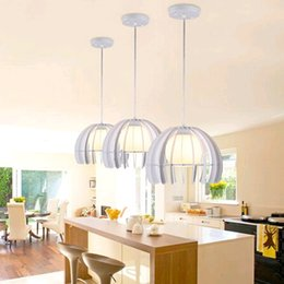 Wholesale 2016 LED Chandelier droplight celling lamp pendent lamp colors black and white with Scrub Glass lamp shade new