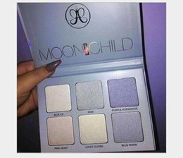 Wholesale New Bronzers Highlight Ana Glow Kit MOON CHILD Makeup Face Blush Powder Blusher Palette Cosmetic Blushes
