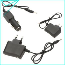 Accesorios cargador del recorrido de la linterna de la UE / enchufe de los EEUU del cargador del coche del adaptador LED recargable Linterna antorcha lámpara de CA desde accesorios de viaje coche proveedores