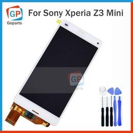 Wholesale Repair Parts For Sony Xperia Z3 Mini Compact D5803 D5833 LCD Panel Touch Screen Digitizer Assembly Display