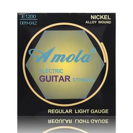 Amola Nickel Alloy E1200 009 Regular light gauge Electric Guitar Strings