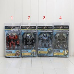 Wholesale Pacific Rim Gipsy Danger Crimson Typhoon Coyote Tango Cherno Alpha Striker Eureka PVC Action Figure Collectible Model Toy quot CM styles