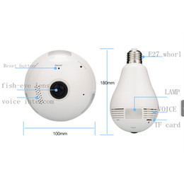 Wholesale Light Shape Wifi IP Camera w px G Storage Wireless IPC with Motion Detection Audio Alarm RH HS360