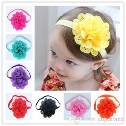 wholesale children's hair band Baby hollow out hair band Elastic strap Flower Girls Headband Funny Girl Designs 12 color Free shipping
