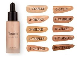 Wholesale Factory Direct Unique Touch Mineral Liquid Foundation Professional Makeup Foundation Waterproof Face Concealer Liquid Colors
