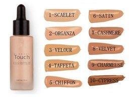 Wholesale Factory Direct Unique Touch Mineral Liquid Foundation Professional Makeup Foundation Waterproof Face Concealer Liquid Colors