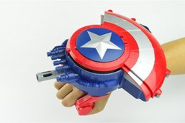 Wholesale Captain America shield electric bullet gun bursts of children s water toy Children s Day gift