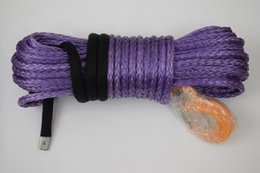 Wholesale Purple quot ft Winch Rope for Atv Winch Accessary Warn Winch Cable for Trailers ATV Winch Kit