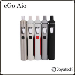 Wholesale Joyetech eGo Aio Kit with ml Capacity mAh Battery Anti leaking Structure and Childproof Lock All in one Style Kit Original