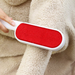 Magic electrostatic double faced clothing cleaning brush clothing dust brush dry cleaning brush woolen cloth cleaning