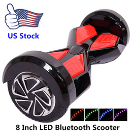 Wholesale US Stock Bluetooth Hoverboard Smart Balance Wheel Inch Two Wheels Electric Scooters Smart Balance Wheel Self Balancing Scooter For Sale