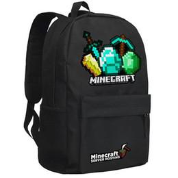 2016 Backpack Game PVC Waterproof Shoulder Children School Bags Boys Mochila Double Shoulder Schoolbag MW02