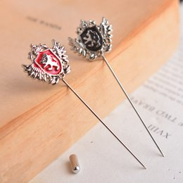 Retro Royal King Pin Brooch Shield Lion Unicorn Brooch Scottish Brooch Korean Word Pin Corsage