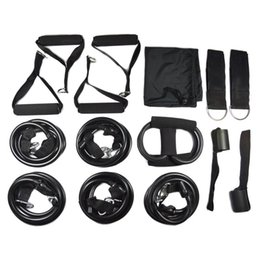 Wholesale 150lbs Fitness Resistance Bands Set Body Building Resistance Tube Kit with Door Anchor for Travel Home Gym Workout