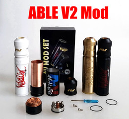Wholesale AV Able V2 Mod Kit clone AVID LIFE AV Torpedo Cap Combo RDA design from CLOUD CHASING ACADEMY for Battery rda