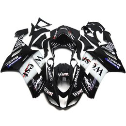 Wholesale Full Fairings For Kawasaki Ninja ZX6R ZX R Year Plastics ABS Motorcycle Fairing Kit Bodywork Bodykit Cowling West Black