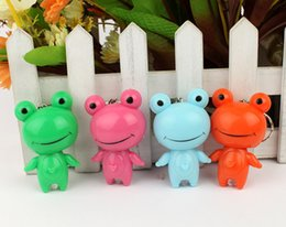 Meilleures lumières de led photo en Ligne-rapide coût d'expédition libre tout en dessin animé vendre belle nouvelle meilleure vente chaude Moving Head Frog trousseau lampe d'éclairage pendentif
