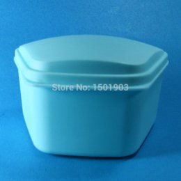 Wholesale Denture Bath Retainer Box Orthodontic Mouth Guard Dental Storage Container Trapezoidal from oka dentalshop box snoopy