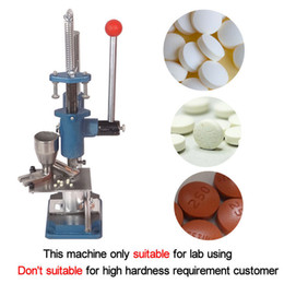 Wholesale Tablet Press Machine Manual Steel Pill Tablet Maker For Lab Home Use