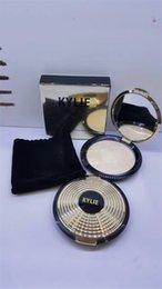 Wholesale 2016 kylie Jenner face powber Mild restoring powdery cake colors makeup powder Brughten long lasting kylie gold