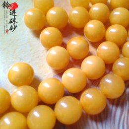 Pure natural gourmet Baltic Amber beeswax old DIY beads necklace bracelet beads wholesale bulk material