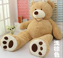Wholesale 1M is absent so winning qiao en with the new version of its U S giant bear plush toy teddy bear hug bear doll doll