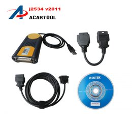 Wholesale 2015 Professional Diagnostic Multi Diag Access J2534 OBD2 Device Multi diag Multidiag On Hot Selling MultiDiag DHL Free