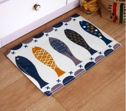 Wholesale 40 cm Anti slip Kitchen floor mat kit for bath room mat area rug balcony foot pad