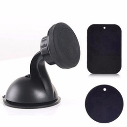 Wholesale Best selling New Universal degree Car Mount Ball Sticky Magnetic Stand Holder For Cell Phone GPS YYH