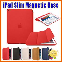 Wholesale ipad case Apple iPad Mini Air Slim Magnetic Leather Smart iPad Cases Cover Wake Protector