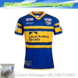 Wholesale NEW Zealand yellow Leeds Rhinos Rugby jersey one two team ALL BLACKS RWC Super RUGBYNRL the star premiership rugby jerseys Shirts