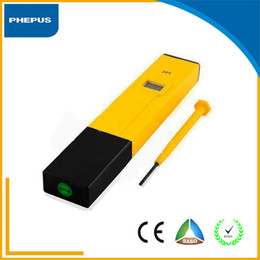 Wholesale Best sale Pocket Pen Small digital ph meter tester for Testing Water Pool Sink ph meter tester Temperature Thermometer