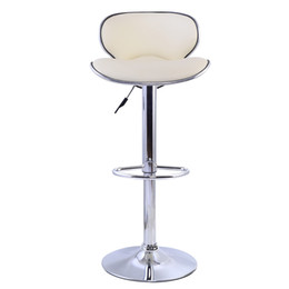 Wholesale 1 PC Bar Stools Leather Modern Hydraulic Swivel Dinning Chair Barstools New