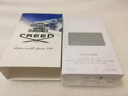 Wholesale creed perfume sliver mountain water for men cologne ml with long lasting time good smell